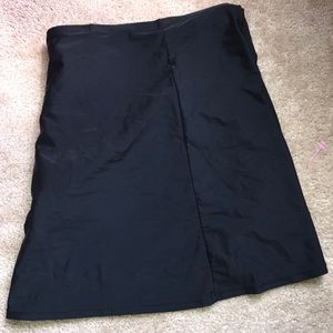 Catherines swim skirt size 3X black